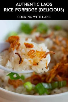 Porridge isn't just a healthy meal but an essential one as well. However, eating the same type of porridge every sing day can become mundane. This is why it is good to try out new recipes every now and then. Take the Khao Piak Khao Gai for example - an Asian variation on the rice porridge we all know. Read on to find out more about it. #PorridgeRecipe #LaoRecipe #LaoCuisine
