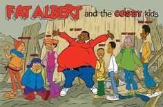 Bill Cosby created Fat Albert as a comedy sketch. NBC wanted a Fat Albert show for Saturday mornings. But they thought that the show was to educational, so Mr. Cosby said aight and took his show to… My Childhood Memories, Great Memories, Childhood Images, Childhood Toys, Cosby Kids, Old School Cartoons, Funny Cartoons, Saturday Morning Cartoons 80s, Mickey Cartoons