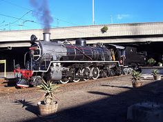 Cape Town - Monument Station: Atlantic Rail's operation of SAR 24 (in steam) South African Railways, Steam Locomotive, Cape Town, Trains, Photographers, Celebration, Castle, Engineering, Pictures