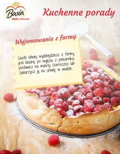 Wyjmowanie ciasta z formy. Food Platters, Lifehacks, Cooking Tips, Cheese, Chocolate, Baking, Eat, Recipes, Life Cheats
