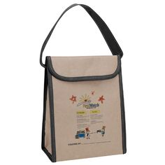 V Naturalル Kraft Lunch Bag | Custom Tote Bags | Promotional