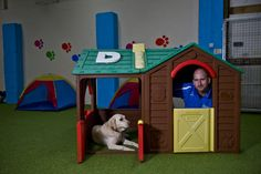Mark had been unemployed since May 2010. He turned to The Prince's Trust with an idea of setting up a dog walking and training service for the Ballymena area of Northern Ireland, and with The Trust's support, he has now set up Doggy Daycare.
