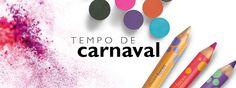 Tempo de Carnaval.Chegaram os dias mais animados do ano: é tempo de Carnaval! Impressione e divirta-se com nossos makes coloridos