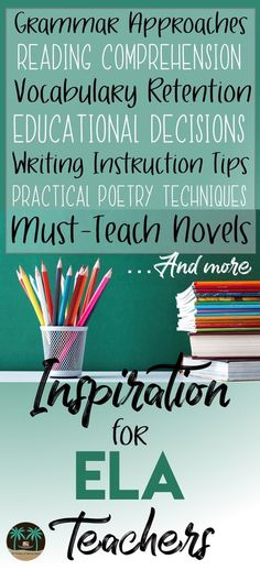 Are you in need of some inspiration for a middle or high school ELA class? The Reading and Writing Haven's blog offers some encouragement, inspiration, and freebies related to all aspects of English Language Arts. Come on over!