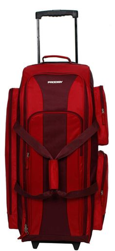 1058d2c245b82 Make packing for your next trip a breeze with this Prodigy Rugged Gear wheeled  duffel bag.