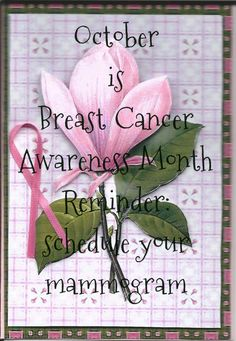 October Is Breast Cancer Awareness Month Photo:  This Photo was uploaded by slasew.