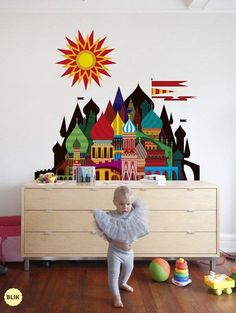 Baby's room, imaginary castle by Patrick Hruby