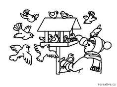 obrázky ptáčci v zimě Kindergarten, Elementary Schools, Images, Inspiration, Comics, Winter, Fictional Characters, Biblical Inspiration, Winter Time