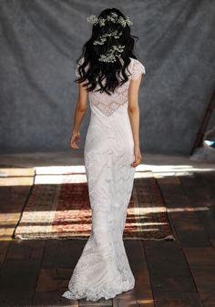 Claire Pettibone #Romantique 'Estelle' wedding dress | Bohemian Rhapsody Collection
