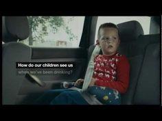 子どもには酔っ払いがこう見えている 海外の飲酒警告CM - YouTube ターゲット:子の親