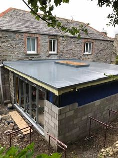 Element GRP Roofing are experts in GRP/Fibreglass roofing. House Extension Plans, House Extension Design, Roof Extension, Bungalow Extensions, House Extensions, Fibreglass Flat Roof, Flat Roof Skylights, House Construction Plan, Roof Lantern