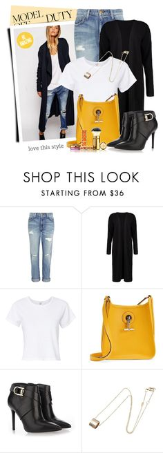 """Be amazing"" by jan31 ❤ liked on Polyvore featuring Current/Elliott, Boohoo, RE/DONE, Hermès, Stella Luna, Gucci, Tory Burch and modeloffduty"