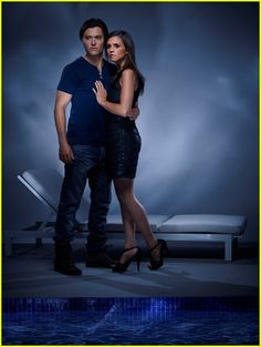 Alexandra Chando: New 'Lying Game' Gallery Pics!: Photo Alexandra Chando shows off the two sides of twins Emma and Sutton she portrays on ABC Family's The Lying Game in these new gallery pics. Alexandra Chando, Blair Redford, The Lying Game, Disney Shows, Abc Family, Old Actress, Celebs, Celebrities, Gorgeous Men