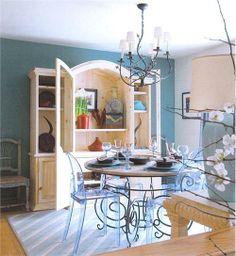 Dramatic Transitional Dining Room by Kent Brasloff on HomePortfolio