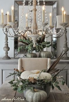 shabby...ABSOLUTELY GORGEOUS!! (Great use of greenery etc. from the garden!)
