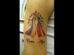 colombian and puerto rican tattoos | Flags & Heritage Tattoos by The Red Parlour Tattoo Woodside Queens NY ...