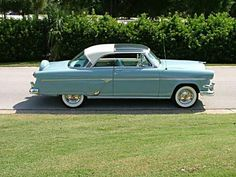 1954 Ford Crestline Skyliner..Re-pin brought to you by agents of #Carinsurance at #HouseofInsurance in Eugene, Oregon