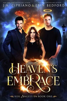 Heaven's Embrace #paranormal #angels #urbanfantasy #pnr