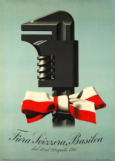 Fiera Svizzera Basilea  Peter BIRKHAUSER  Prix de l'affiche suisse 1941