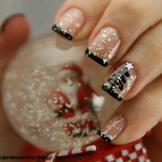 Imagem de nails, christmas, and snow