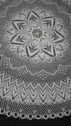 Crochet Circle Vest, Crochet Circles, Crochet Doily Patterns, Crochet Diagram, Thread Crochet, Crochet Motif, Crochet Doilies, Mantel Redondo, Crochet Carpet