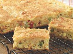 Receitas econômicas – Torta de legumes no liquidificador | Bolsa Blindada