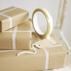 Embalagem de Presente fácil de fazer ~ Arte De Fazer | Decoração e Artesanato
