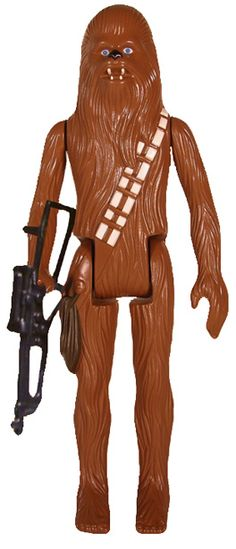 "Classic Kenner Chewbacca ""Star Wars"" Vintage Action Figure 