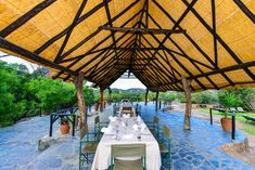 Matobo Hills Lodge restaurant