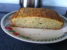 *Coconut Bread with Zucchini (Paleo, Grain and Sugar free)* This coconut flour bread is an excellent and completely balanced food, as it has plenty of protein from the eggs, plenty of good fat from the coconut oil and plenty of fiber from the coconut flour. 