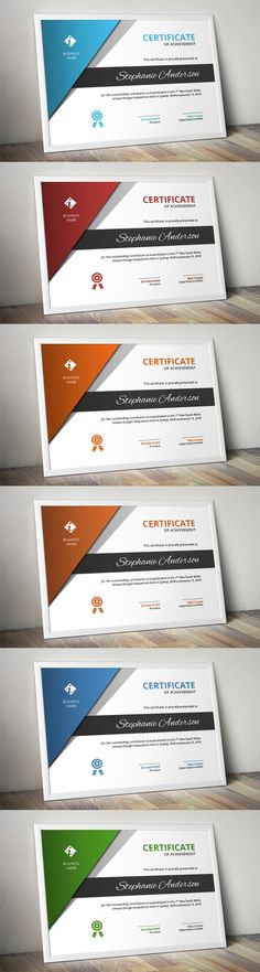 Corporate business certificate. Stationery Templates. $6.00