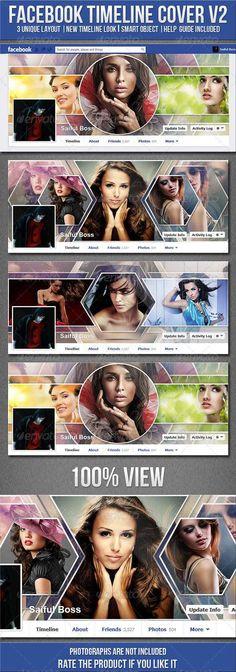 Facebook Timeline Cover V2 on Behance