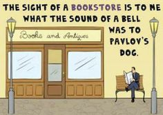 Mystery Fanfare: Cartoon of the Day: Bookstore