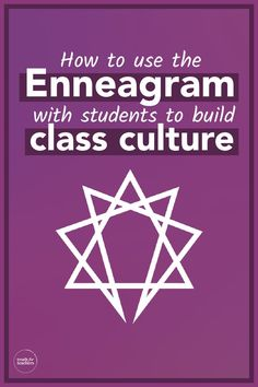 Building a classroom is so much more than desk formations and pretty bulletin boards. It is cultivating strong relationships with your students and learning the nuances of their personalities to help them learn and grow. The Enneagram is a helpful way to get to know your students so that you can create the best learning environment possible. Behavior Management Strategies, Teaching Strategies, Teaching Tips, Strong Relationship, Relationships, Enneagram Test, Back To School Hacks, Interpersonal Relationship, Comprehension Questions