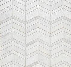Walker Zanger chevron mosaic