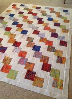 *Jenny Doan's Falling Charms pattern would be great as a scrap quilt! by priscilla