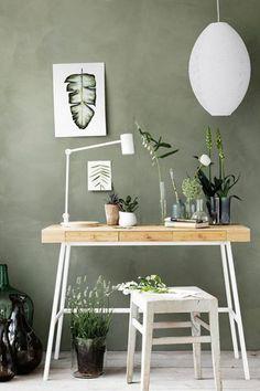 Tendance déco : le vert sauge est la nouvelle couleur phare ! #aufeminin #déco #décoration #vert #vertsauge #vertdegris #vertcéladon #interiors #tendancedéco #idéesdéco