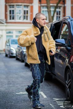 Marc Goehring Street Style Street Fashion Streetsnaps by STYLEDUMONDE Street Style Fashion Photography