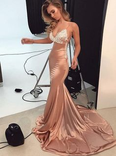 Strappy Prom Dresses,Mermaid Prom Dress,Fitted Prom Dress,Prom Dress 562 on Storenvy Fitted Prom Dresses, Cute Prom Dresses, Prom Outfits, Prom Dresses For Sale, Plus Size Prom Dresses, Prom Dresses Online, Mermaid Prom Dresses, Mode Outfits, Trendy Dresses