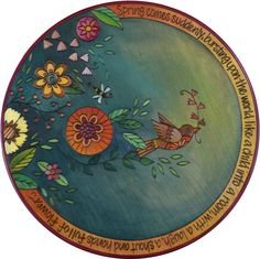 """20""""D Small Lazy Susan - 2016 Spring Limited Edition - Design going away soon, get it while you still can!"""