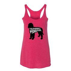Goldendoodle Monster - Women's Racerback Tank