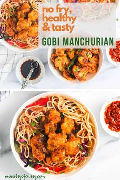Popular Indo Chinese recipe, this Gobi Manchurian recipe uses shallow pan frying method to use fraction of oil with the same spicy, tangy and sweet taste. Curry Recipes, Soup Recipes, Vegetarian Recipes, Healthy Recipes, Spicy Recipes, Gobi Manchurian, Manchurian Recipe, Indo Chinese Recipes, Indian Food Recipes