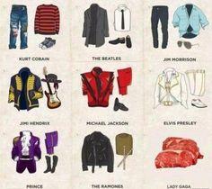 Quel est votre style? Musicien Musique vêtements