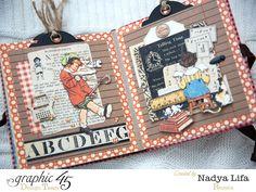 """C облаками в голове..Nadya Tana Lifa: Совместный Проект """"I LOVE GRAPHIC 45!"""". 2 ЭТАП"""