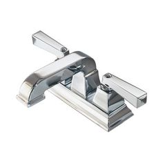 American Standard - Town Square 4 Inch 2-Handle Low-Arc Bathroom Faucet in Polished Chrome - 2555.201.002 - Home Depot Canada