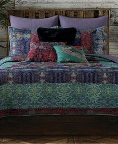 Tracy Porter Emmeline Reversible Floral Medallion Queen Quilt - $141.99
