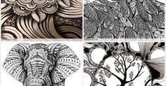 Zentangle Patterns & Ideas | Artistic | Pinterest | Zentangle Patterns, Zentangle and Patterns