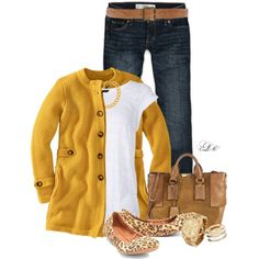 I MUST find a mustard yellow cardigan this year!!