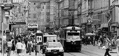 Straßenverkehr beherrschte die Herrengasse, 1970er