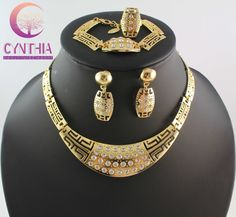 Cheap set track, Buy Quality set cocktail directly from China sets Suppliers:Free Shipping 2014 Fashion Women Clear Crystal Gold Plated Necklace Set Wedding Bridal Jewelry Sets WB-2102US $ 28.99/se